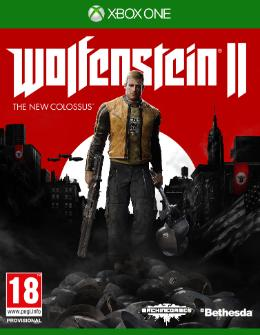 Carátula de Wolfenstein II: The New Colossus para Xbox One
