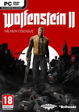 Carátula de Wolfenstein II: The New Colossus para PC