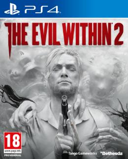 Carátula de The Evil Within 2 para PlayStation 4