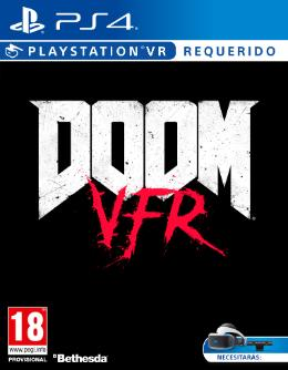 Carátula de DOOM VFR para PlayStation 4