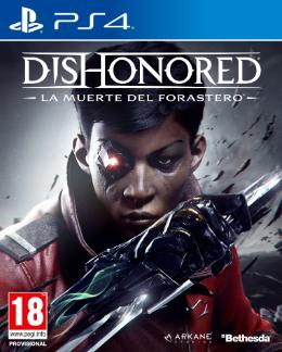 Carátula de Dishonored: La Muerte del Forastero para PlayStation 4