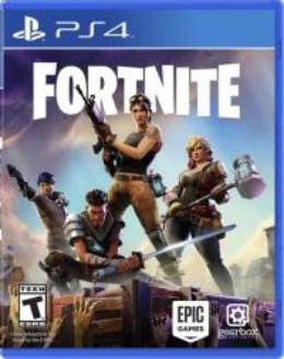 Carátula de Fortnite para PlayStation 4