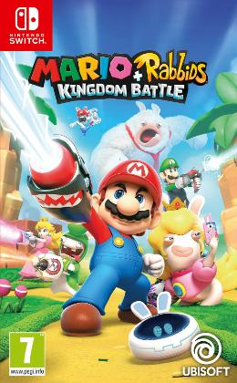 Carátula de Mario + Rabbids: Kingdom Battle para Nintendo Switch