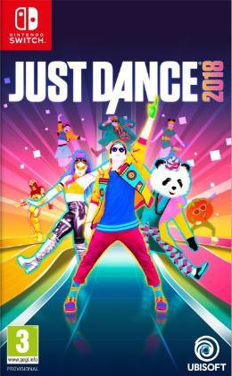 Carátula de Just Dance 2018 para Nintendo Switch