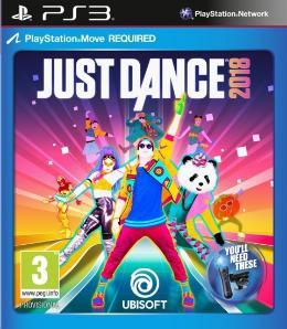 Carátula de Just Dance 2018 para PlayStation 3