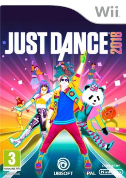 Carátula de Just Dance 2018 para Wii