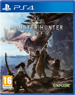 Carátula de Monster Hunter World para PlayStation 4