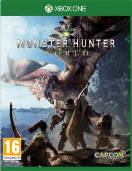 Carátula de Monster Hunter World para Xbox One