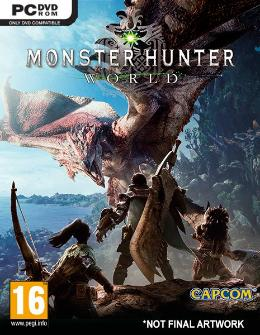 Carátula de Monster Hunter World para PC