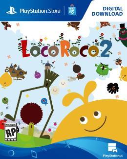 Carátula de Locoroco 2 Remastered para PlayStation 4