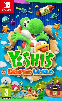Carátula de Yoshi's Crafted World para Nintendo Switch
