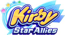 Carátula o portada Logo Oficial del juego Kirby Star Allies para Nintendo Switch