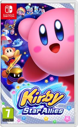 Carátula de Kirby Star Allies para Nintendo Switch