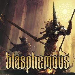 Carátula de Blasphemous para PlayStation 4