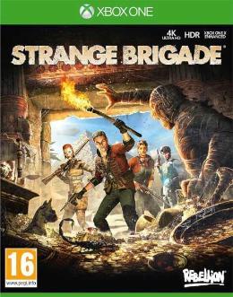 Carátula de Strange Brigade para Xbox One