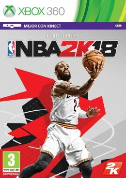 Carátula de NBA 2K18 para Xbox 360