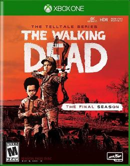 Carátula de The Walking Dead: A Telltale Games Series - The Final Season para Xbox One