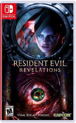 Carátula de Resident Evil: Revelations para Nintendo Switch
