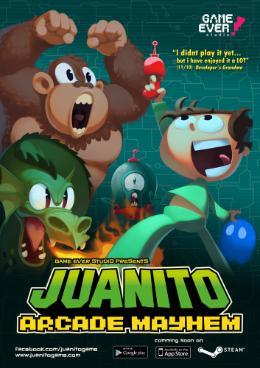 Carátula de Juanito Arcade Mayhem