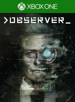 Carátula de >Observer_ para Xbox One