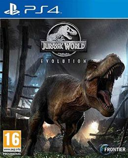 Carátula de Jurassic World Evolution para PlayStation 4