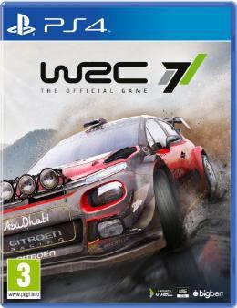 Carátula de WRC 7 para PlayStation 4