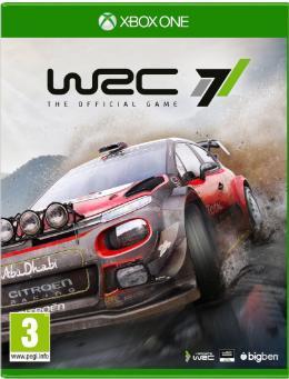 Carátula de WRC 7 para Xbox One