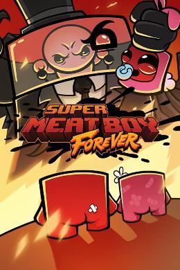 Carátula de Super Meat Boy Forever para Xbox One
