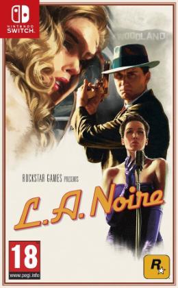 Carátula de L.A. Noire para Nintendo Switch