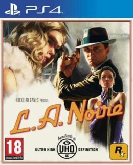 Carátula de L.A. Noire para PlayStation 4