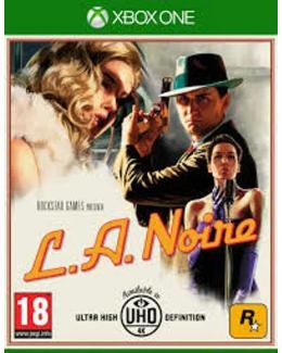 Carátula de L.A. Noire para Xbox One