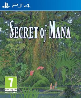 Carátula de Secret of Mana Remake para PlayStation 4