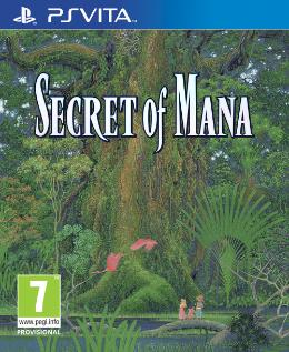 Carátula de Secret of Mana Remake para PlayStation Vita