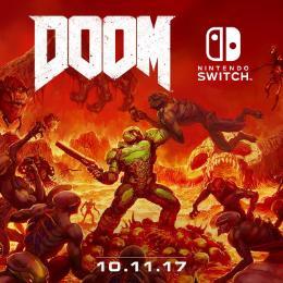Carátula de Doom (2017) para Nintendo Switch