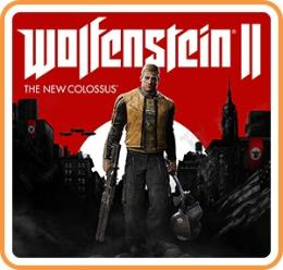 Carátula de Wolfenstein II: The New Colossus para Nintendo Switch