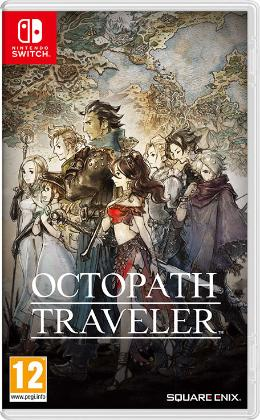 Carátula de Octopath Traveler para Nintendo Switch