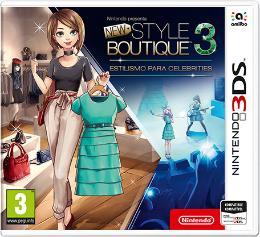 Carátula de Nintendo presenta: New Style Boutique 3 - Estilismo para Celebrities para Nintendo 3DS