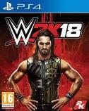 Carátula de WWE 2K18 para PlayStation 4