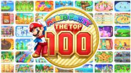 Carátula de Mario Party: The Top 100 para Nintendo 3DS