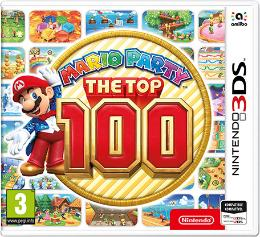 Carátula de Mario Party: The Top 100 para Nintendo 3DS