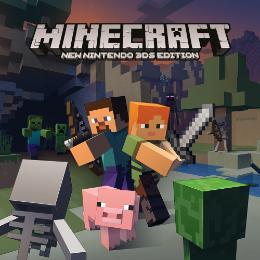 Carátula de Minecraft: New Nintendo 3DS Edition para Nintendo 3DS