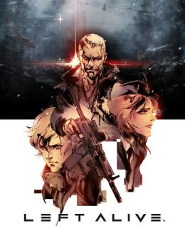 Carátula de Left Alive para PlayStation 4