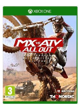 Carátula de MX vs. ATV All Out para Xbox One