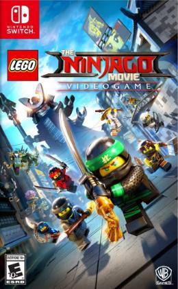 Carátula de La LEGO Ninjago Película: El Videojuego para Nintendo Switch