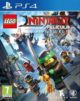 Carátula de La LEGO Ninjago Película: El Videojuego para PlayStation 4