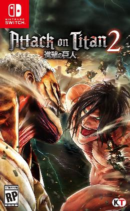 Carátula de Attack on Titan 2 para Nintendo Switch