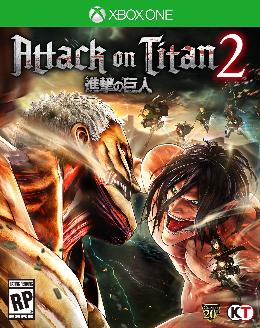 Carátula de Attack on Titan 2 para Xbox One