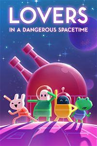 Carátula de Lovers in a Dangerous Spacetime