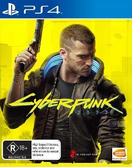 Carátula de Cyberpunk 2077 para PlayStation 4