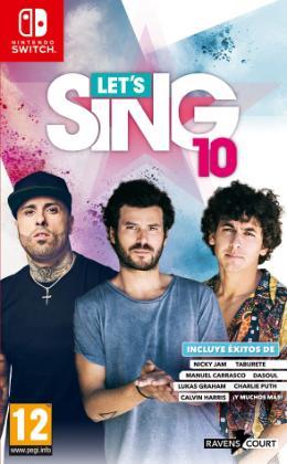 Carátula de Let's Sing 10